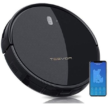 Tesvor Robot Vacuum Cleaner - 4000Pa Strong Suction Robot Vacuum