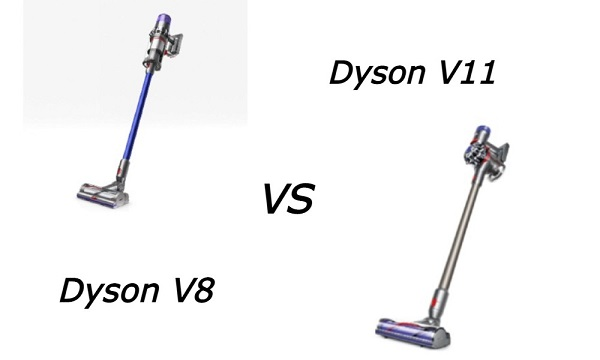 Difference Between Dyson V8 and V11