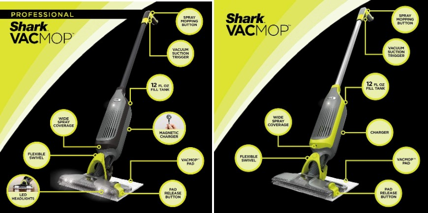 Features that Make Shark VacMop Pro VM252 Stand Out